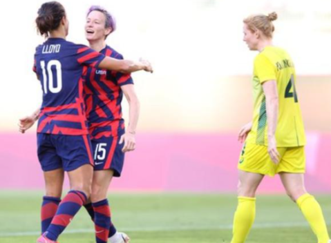 The United States beat Australia, Olympic bronze
