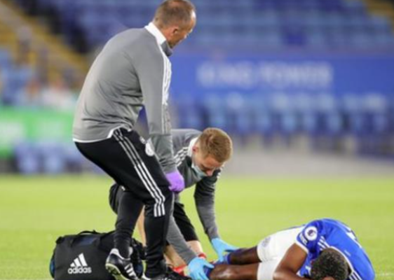 Wesley Fofana suffered a broken leg during pre-season