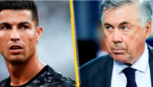 Ancelotti is clearly interested in bringing Ronaldo back to Real Madrid